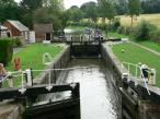 Lock 3 at Braunston - Grand Union Canal, England.