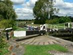Buckby Lock 12 and The Grand Union Canal, England.