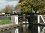 Copper Mill - Lock Gates - Grand Union Canal, England.