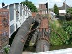 Huge old pipes next to Mill Road Bridge 187 - The Grand Union Canal.