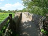 Leicester Section - The narrow Packhorse Bridge at Aylestone