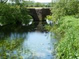 Yet another view of the lovely Aylestone Packhorse Bridge, Leicester Canal, England.