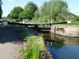 Belgrave Lock lock gates - Leicester Canal.