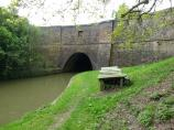 Northern Portal of Crick Tunnel - The Leicester Canal in England.