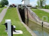 Foxton Lock 10, Leicester Canal, England.