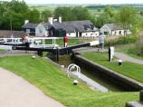 Foxton Lock 15 and The Leicester Canal.