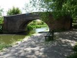 Packhorse Bridge 105, Leicester Canal in England.