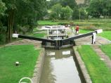 Leicester Canal Section and Watford Locks - Staircase Lock 5