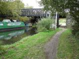Footbridge 37, River Stort Navigation, England.
